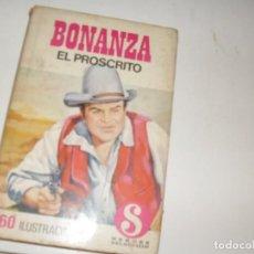 Tebeos: HEROES SELECCION 12 BONANZA EL PROSCRITO.EDITORIAL BRUGUERA,AÑO 1958.. Lote 290100548