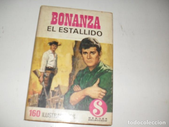 HEROES SELECCION 9 BONANZA EL ESTALLIDO.EDITORIAL BRUGUERA,AÑO 1958. (Tebeos y Comics - Bruguera - Otros)
