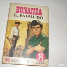 Tebeos: HEROES SELECCION 9 BONANZA EL ESTALLIDO.EDITORIAL BRUGUERA,AÑO 1958.. Lote 290100938