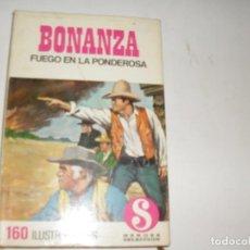 Tebeos: HEROES SELECCION 4 BONANZA FUEGO EN LA PONDEROSA.EDITORIAL BRUGUERA,AÑO 1958.. Lote 290101103