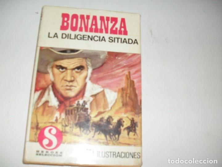 HEROES SELECCION 1 BONANZA LA DILIGENCIA SITIADA.EDITORIAL BRUGUERA,AÑO 1958. (Tebeos y Comics - Bruguera - Otros)