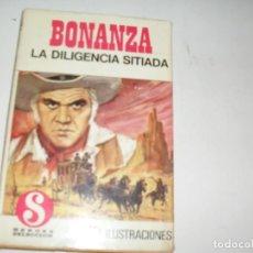 Tebeos: HEROES SELECCION 1 BONANZA LA DILIGENCIA SITIADA.EDITORIAL BRUGUERA,AÑO 1958.. Lote 290101388