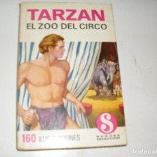 Tebeos: HEROES SELECCION TARZAN 3 EL ZOO DEL CIRCO.EDITORIAL BRUGUERA,AÑO 1958.. Lote 290102753