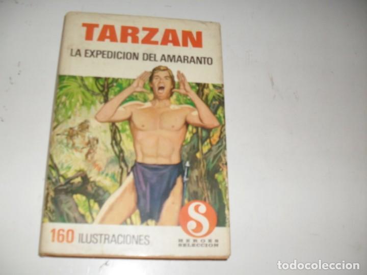 HEROES SELECCION TARZAN 2 LA EXPEDICION DEL AMARANTO.DIBUJANTE AMBROS.EDITORIAL BRUGUERA,AÑO 1958. (Tebeos y Comics - Bruguera - Otros)