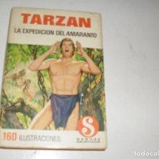 Tebeos: HEROES SELECCION TARZAN 2 LA EXPEDICION DEL AMARANTO.DIBUJANTE AMBROS.EDITORIAL BRUGUERA,AÑO 1958.. Lote 290102993