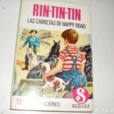 Tebeos: HEROES SELECCION RIN-TIN-TIN 4 LAS CARRETAS DE HAPPY ROAD.EDITORIAL BRUGUERA,AÑO 1958.. Lote 290103433