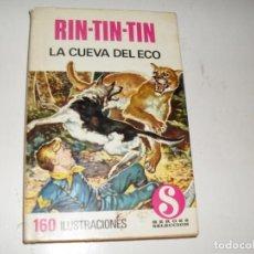 Tebeos: HEROES SELECCION RIN-TIN-TIN 2 LA CUEVA DEL ECO.EDITORIAL BRUGUERA,AÑO 1958.. Lote 290103648