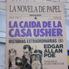 Tebeos: LA NOVELA DE PAPEL-BRUGUERA- Nº 17 -LA CAÍDA DE LA CASA USHER-EDGAR A.POE-1986-BUENO-DIFÍCIL-5610. Lote 290112303