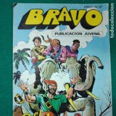 Tebeos: BRAVO Nº 27. AÑO I. EL CACHORRO, Nº 14: LA PRINCESA BIMBA. BRUGUERA, JULIO 1976. Lote 290441233
