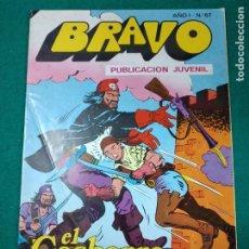 Tebeos: BRAVO Nº 67. AÑO I. EL CACHORRO, Nº 34: ¡LA FORTALEZA PIRATA!. BRUGUERA, NOVIEMBRE 1976. Lote 290444248