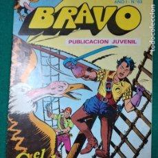 Tebeos: BRAVO Nº 63. AÑO I. EL CACHORRO, Nº 32: ¡EN LA BOCA DEL LOBO!. BRUGUERA, NOVIEMBRE 1976. Lote 290444363