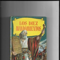 Tebeos: LOS DIEZ MANDAMIENTOS, DIBUJANTE TOMAS MARCO COLECCIÓN HISTORIAS AÑO 1964 250 LLUSTRACIONES. Lote 291042813