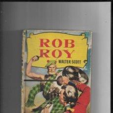 Tebeos: ROB ROY COLECCIÓN HISTORIAS Nº 28 AÑO 1956 1ª EDICIÓN DIBUJANTE PEDRO ALFEREZ CONTIENE 250 LLUSTRACI. Lote 291150413