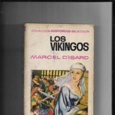 Tebeos: LOS VIKINGOS COLECCIÓN HISTORIAS Nº 20 AÑO 1967 CONTIENE 250 LLUSTRACIONES DE JAIME JUEZ. Lote 291165768