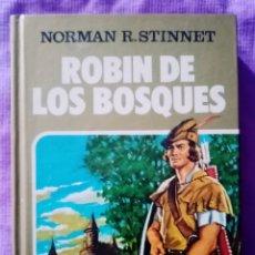 Tebeos: 1984 LIBRO ROBIN DE LOS BOSQUES_ EDITORIAL BRUGUERA_ COMIC, NORMAN R. STINNET. ILUSTRACIONES 255 PAG. Lote 291168163