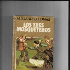Tebeos: LOS TRES MOSQUETEROS COLECCIÓN HISTORIAS Nº 4 AÑO 1981 CONTIENE 250 LLUSTRACIONES DE AMBRÓS. Lote 291175538