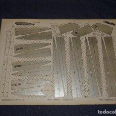 Tebeos: (M0) PULGARCITO - CONSTRUCCIONES PULGARCITO - RECORTABLE GRAF ZEPPELIN N.9 SERIE PLATA. Lote 291189478