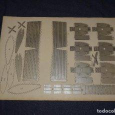 Tebeos: (M0) PULGARCITO - CONSTRUCCIONES PULGARCITO - RECORTABLE AVION DORNIER 1929 N.12 SERIE PLATA. Lote 291190063