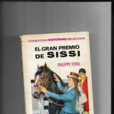 Tebeos: SISSI LOTE DE 8 LIBROS COLECCIÓN HISTORIAS SELECCIÓN Nº 4 - 5 - 6 - 7 - 8 - 10 - 12 - 14. AÑO 1959. Lote 291400493