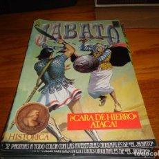 Tebeos: JABATO COLOR EDICION HISTORICA Nº 37, CARA DE HIERRO ATACA. Lote 291450288