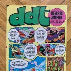 Tebeos: DDT Nº 447 - IMPOLUTÍSIMO. Lote 292047288