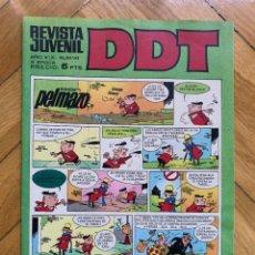 Tebeos: DDT Nº 142 - EXCELENTE ESTADO. Lote 292054563
