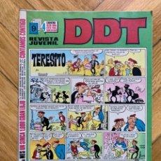 Tebeos: DDT Nº 87 - NOVÍSIMO!!. Lote 292150393