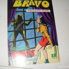 Tebeos: INSPECTOR DAN(BRAVO) NUMERO 30(DE 41).EDITORIAL BRUGUERA,AÑO 1976.. Lote 292386353