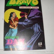 Tebeos: INSPECTOR DAN(BRAVO) NUMERO 26(DE 41).EDITORIAL BRUGUERA,AÑO 1976.. Lote 292510718