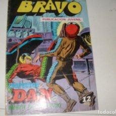 Tebeos: INSPECTOR DAN(BRAVO) NUMERO 21(DE 41).EDITORIAL BRUGUERA,AÑO 1976.. Lote 292510838