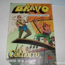 Tebeos: EL CACHORRO(BRAVO) NUMERO 41,EL ULTIMO.(DE 41).EDITORIAL BRUGUERA,AÑO 1976.. Lote 292511798