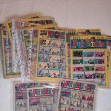 Tebeos: BUEN LOTE DE 23 COMICS PULGARCITO ANTIGUOS. Lote 293186633