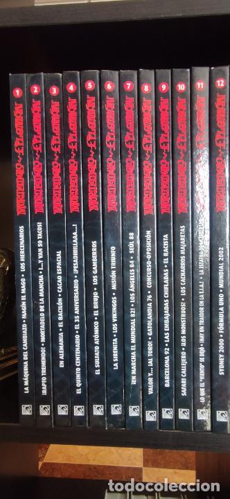 Tebeos: Mortadelo y Filemón. edición coleccionista. Gran mayoría precintados. 60 tomos correlativos. Salvat. - Foto 2 - 293192488