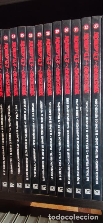 Tebeos: Mortadelo y Filemón. edición coleccionista. Gran mayoría precintados. 60 tomos correlativos. Salvat. - Foto 5 - 293192488