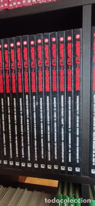 Tebeos: Mortadelo y Filemón. edición coleccionista. Gran mayoría precintados. 60 tomos correlativos. Salvat. - Foto 6 - 293192488