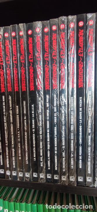 Tebeos: Mortadelo y Filemón. edición coleccionista. Gran mayoría precintados. 60 tomos correlativos. Salvat. - Foto 8 - 293192488
