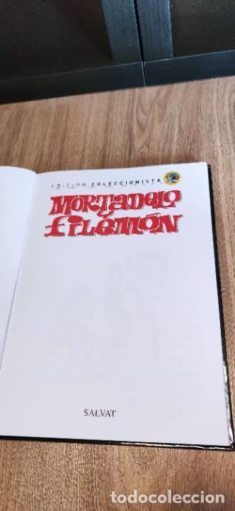 Tebeos: Mortadelo y Filemón. edición coleccionista. Gran mayoría precintados. 60 tomos correlativos. Salvat. - Foto 11 - 293192488
