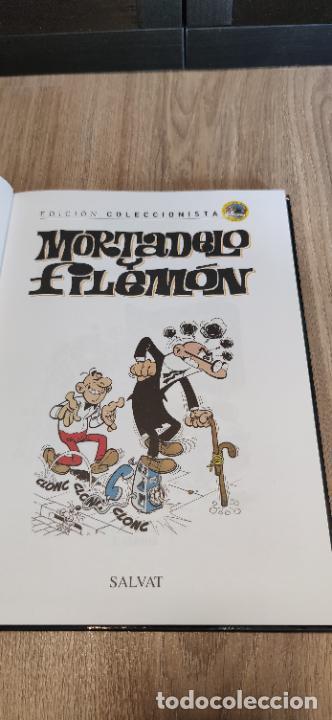 Tebeos: Mortadelo y Filemón. edición coleccionista. Gran mayoría precintados. 60 tomos correlativos. Salvat. - Foto 15 - 293192488