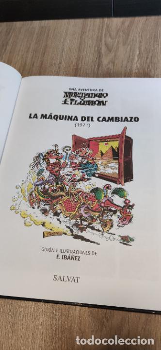 Tebeos: Mortadelo y Filemón. edición coleccionista. Gran mayoría precintados. 60 tomos correlativos. Salvat. - Foto 16 - 293192488
