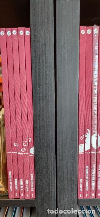 Tebeos: Colección Lucky Luke. 70 aniversario. Planeta de Agostini. 71 tomos correlativos. Muchos precintados - Foto 2 - 293194993