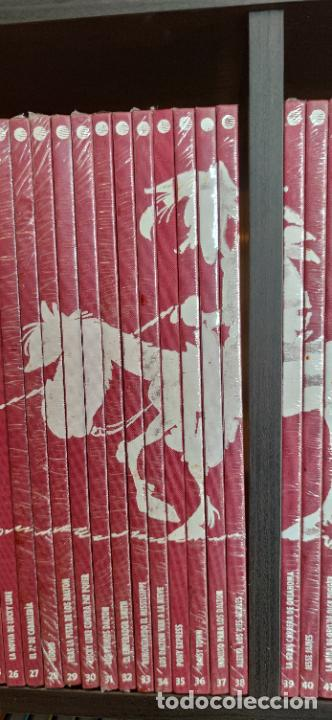 Tebeos: Colección Lucky Luke. 70 aniversario. Planeta de Agostini. 71 tomos correlativos. Muchos precintados - Foto 5 - 293194993