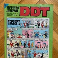 Tebeos: DDT Nº 22 - EXCELENTE ESTADO. Lote 293450753
