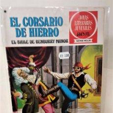 Tebeos: EL CORSARIO DE HIERRO. SERIE ROJA Nº25. EL BAILE DE BEMBURY MANOR. Lote 293655883