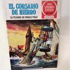 Tebeos: EL CORSARIO DE HIERRO. SERIE ROJA Nº6 .EL TESORO DE MARCO POLO. Lote 293657858