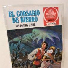Tebeos: EL CORSARIO DE HIERRO. SERIE ROJA Nº1 LA MANO AZUL. Lote 293658393
