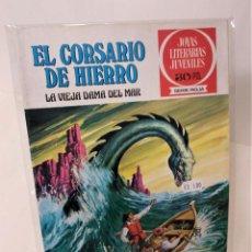 Tebeos: EL CORSARIO DE HIERRO. SERIE ROJA Nº2. LA VIEJA DAMA DEL MAR. Lote 293660438