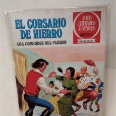 Tebeos: EL CORSARIO DE HIERRO. SERIE ROJA Nº31. LOS COMANDOS DEL TERROR. Lote 293661393