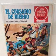 Tebeos: EL CORSARIO DE HIERRO. SERIE ROJA Nº29. LA GUERRA DEL CANADA. Lote 293661708