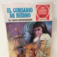 Tebeos: EL CORSARIO DE HIERRO. SERIE ROJA Nº11. EL CIRCO BAMBADABUM. Lote 293662013