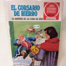 Tebeos: EL CORSARIO DE HIERRO. SERIE ROJA Nº32. EL HOMBRE DE LA CARA DE ORO. Lote 293663583